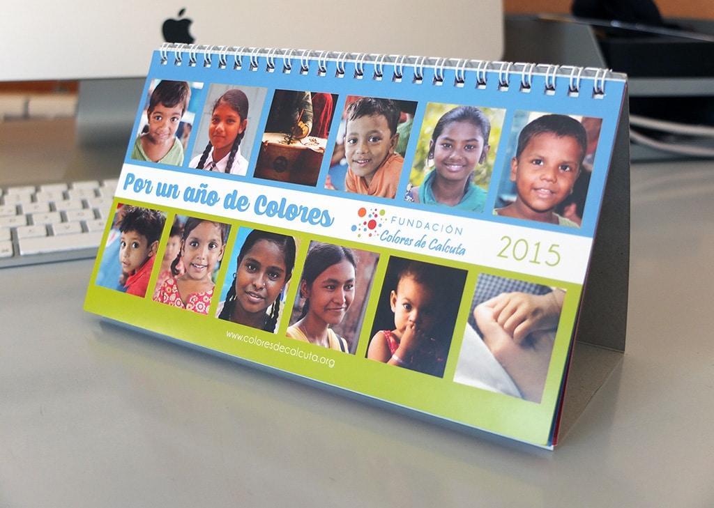 Calendario 2015 – Fundación Colores de Calcuta