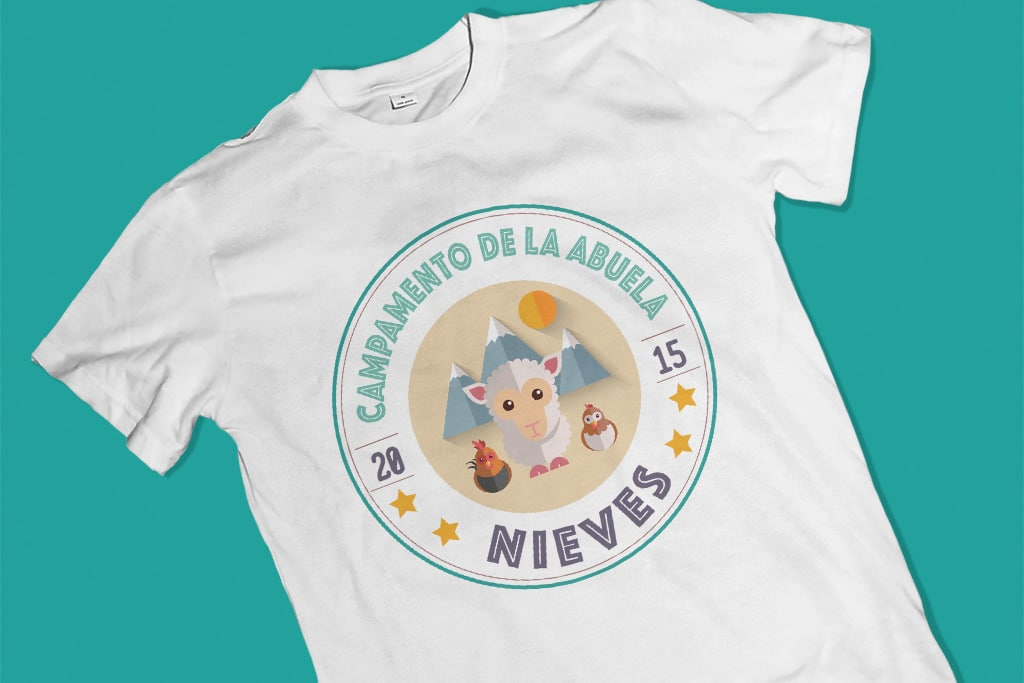 Camiseta Campamento familiar