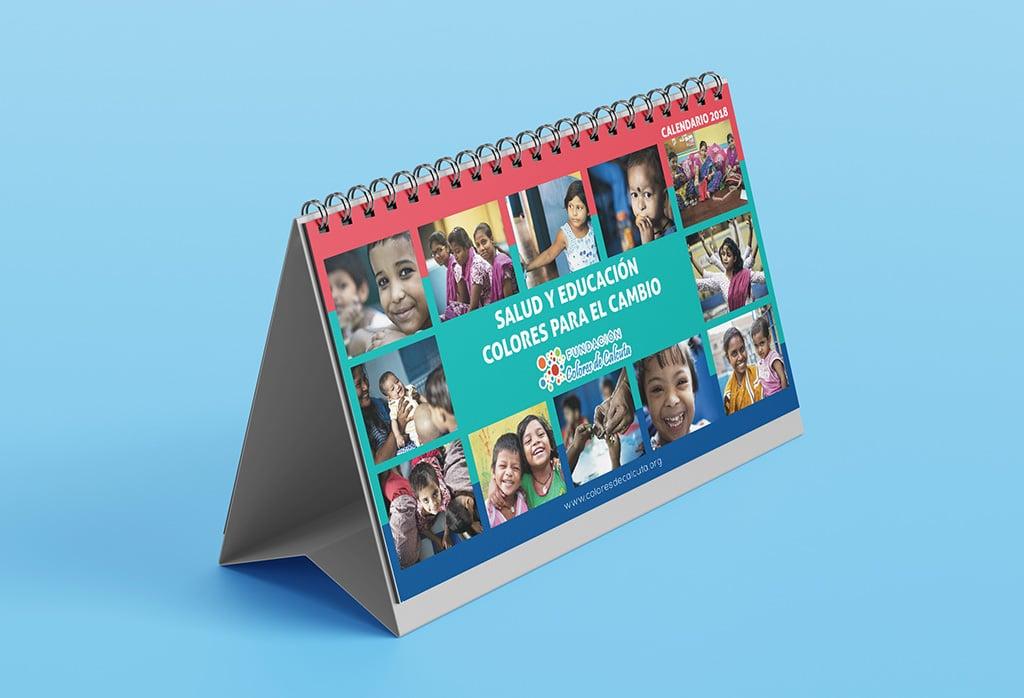 Calendario 2018 – Colores de Calcuta